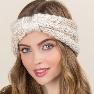 Francesca's Collection Winter Turban Earband